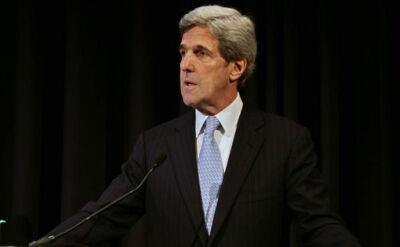 Kerry: Wiemy, że reżim jest winny