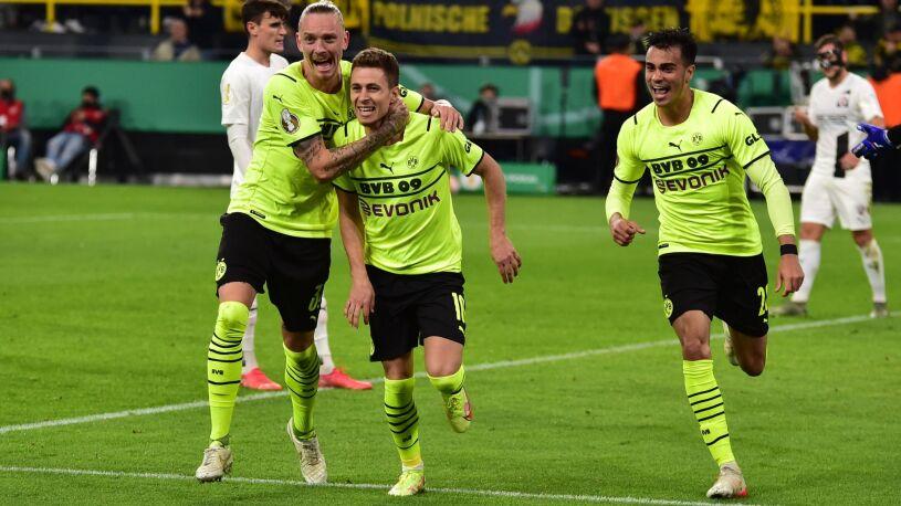 Hazard zastąpił Haalanda. Borussia z awansem