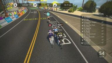 Mistrz RPA wygrał pierwszy etap wirtualnego Tour de France.