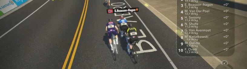 """Mistrz RPA wygrał pierwszy etap wirtualnego Tour de France. """"Kwiato"""" w dziesiątce"""