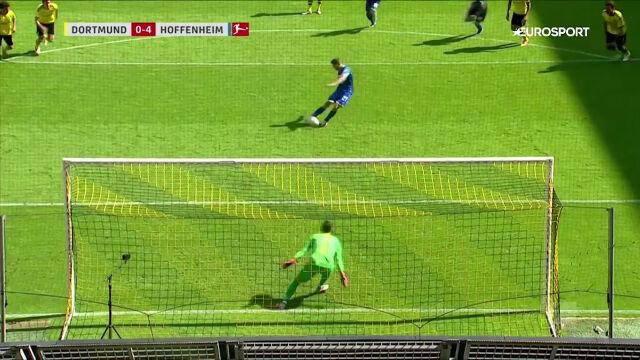 No-look penalty! Świetny gol Kramaricia z rzutu karnego