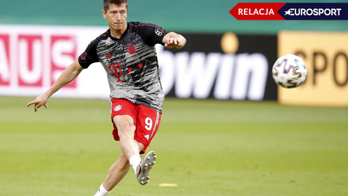 Bayern bawi się w najlepsze. Kolejny gol w finale Pucharu Niemiec