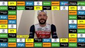 Bernard po wygraniu 2. etapu Wirtualnego Tour de France