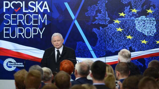 Kaczyński: dziękuje wszystkim, którzy nas poparli. Poparli dobrą zmianę
