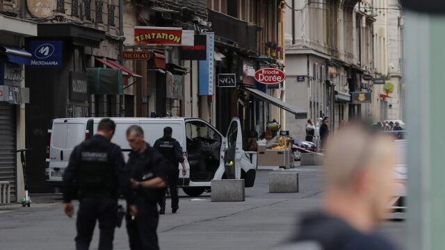 Macron o wybuchu w Lyonie: myślami jestem z rannymi i ich rodzinami