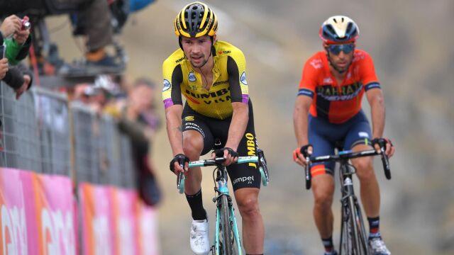 """Majka i Nibali zdenerwowani na faworyta. """"Tak nie wygrasz Giro"""""""