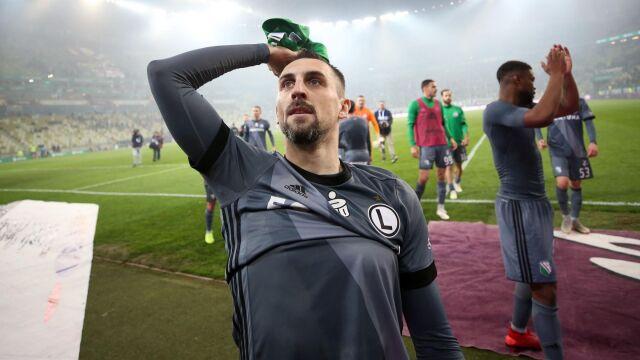 """Legia pożegnała Kucharczyka. """"Należy mu się duży szacunek"""""""