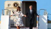 Trump przybył do Japonii