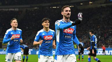 Niespodzianka w Mediolanie. Piękny gol przybliżyłNapoli do finału