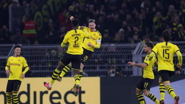 Kapitan Piszczek z pierwszym golem. Borussia pokazała moc