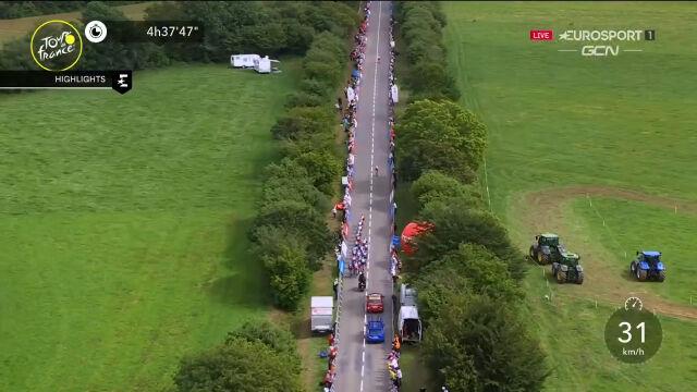 Najważniejsze wydarzenia 1. etapu Tour de France