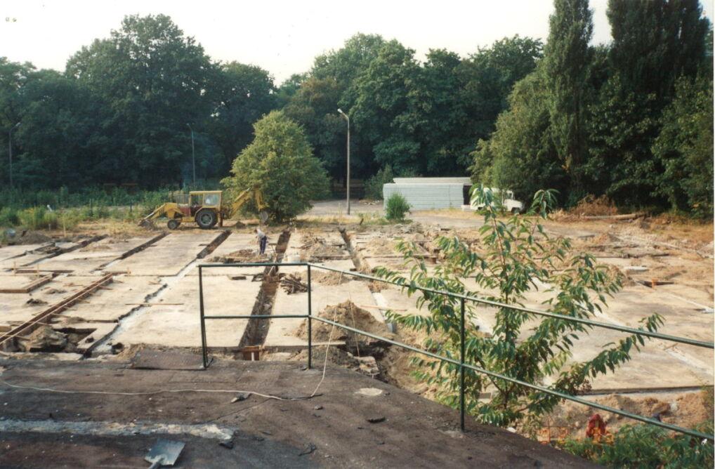 Plac budowy na poznańskiej Cytadeli