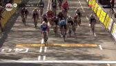 Grupa lidera na mecie 7. etapu Volta a Catalunya