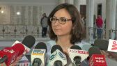 Gasiuk-Pihowicz: PiS dostało żółtą kartkę od Komisji, w marcu będzie czerwona
