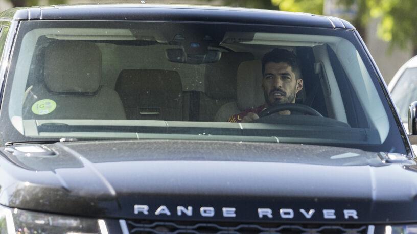 Suarez pożegnał się z kolegami. Ze łzami w oczach