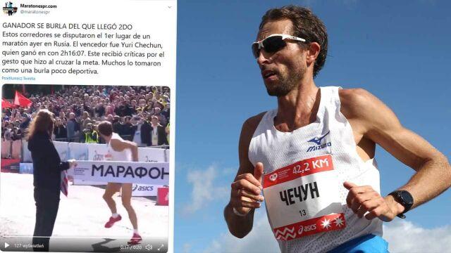 """""""Możesz wygrać bieg, ale stracić twarz"""". Zwycięzca maratonu wzbudził niesmak"""
