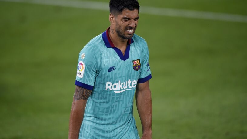 Emocjonalne pożegnanie Suareza