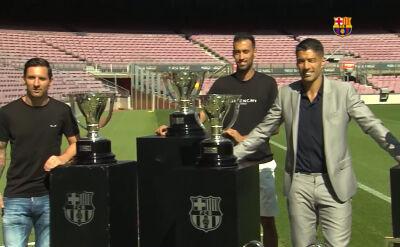Suarez pożegnał się z Barceloną