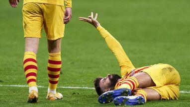 Potężny cios dla Barcelony. Pique wypada na kilka miesięcy