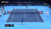 Miedwiediew pokonał Djokovicia w fazie grupowej ATP Finals