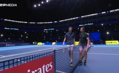 Miedwiediew pokonał Nadala w półfinale ATP Finals