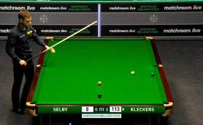 Niespodzianka w 2. rundzie Northern Ireland Open. Kleckers wyeliminował Selby'ego