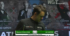 O'Sullivan pokonał Cartera w półfinale Northern Ireland Open