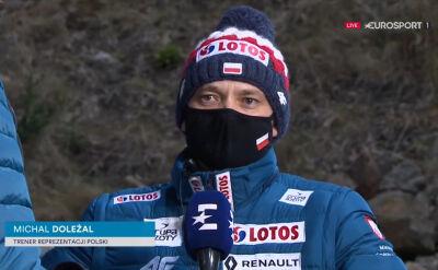 Michal Doleżal po konkursie w Wiśle