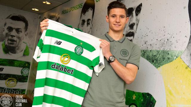 """Reprezentant młodzieżówki w Celticu. """"Marzenie w jakimś stopniu się spełniło"""""""
