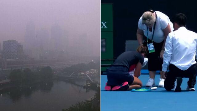 Ludzie mają siedzieć w domu, tenisiści muszą grać. Dantejskie sceny w Melbourne