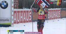 Eckhoff wygrała bieg pościgowy w Ruhpolding