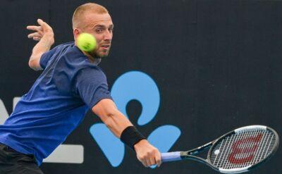 Evans awansował do ćwierćfinału turnieju ATP w Adelajdzie