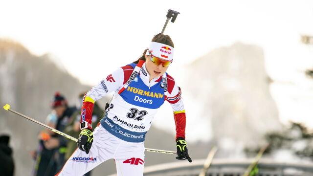 Bardzo dobry występ Kamili Żuk w biathlonowym Pucharze Świata