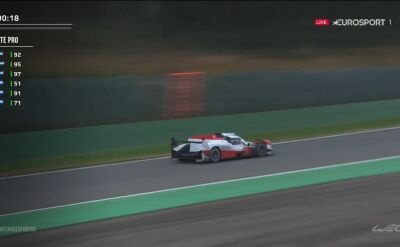 Dublet Toyota Gazoo Racing w 6h of Spa-Francorchamps