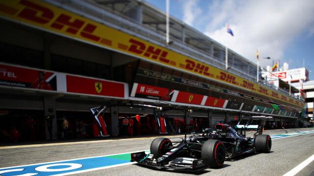 Pokaz siły Mercedesa przed Grand Prix Hiszpanii