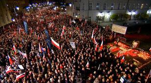 """""""Liczono na to, że Polska zapomni. Nie zapomniała"""". Kaczyński dziękował Macierewiczowi"""