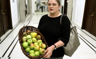"""Kosz jabłek od Sawickiego dla Pawłowicz. """"Ale i tak nie będziemy popierać PSL"""""""