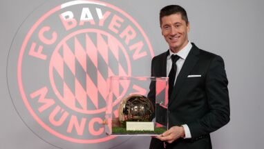 Nie ma Złotej Piłki, jest Złoty Piłkarz. Pierwsza taka nagroda dla Lewandowskiego