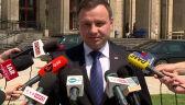 Prezydent Duda: Będziemy rozmawiali o sytuacji Polaków