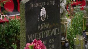Nocna ekshumacja Walentynowicz