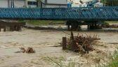 Utrudniony dojazd do Zakopanego. Woda mogła uszkodzić most