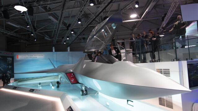 Odsłonięcie makiety brytyjskiego myśliwca nowej generacji - Tempest