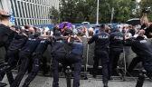 Manifestacja organizacji Obywatele RP przed Sejmem
