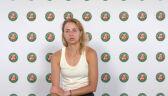 Linette po meczu 3. rundy French Open