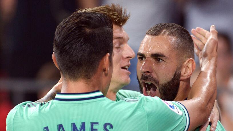 Zidane może odetchnąć po zwycięstwie
