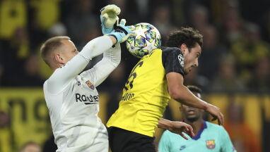Barcelona przetrwała w Dortmundzie. Jej bramkarz dokonywałcudów