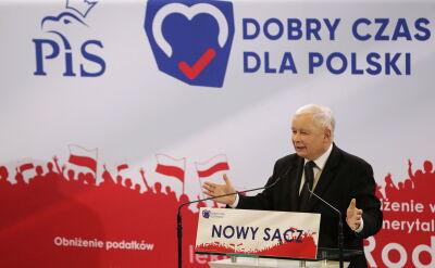 """""""13 października społeczeństwo odpowie na pytanie czy wspólnie będziemy realizowali plan PiS, czy też pójdziemy w drugą stronę, do tyłu"""""""