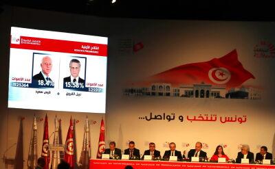 Pierwsza tura wyborów prezydenckich w Tunezji rozstrzygnięta