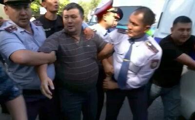 Kilkadziesiąt osób zatrzymanych po protestach w Kazachstanie