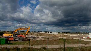 Terminal lotniska w Radomiu rozebrany. Ma powstać większy